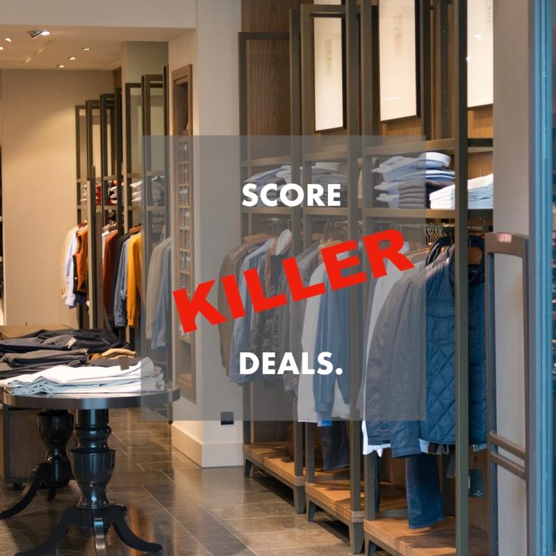score deals fashion budget