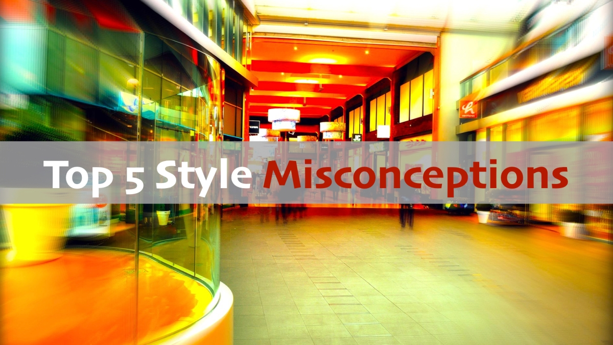 style misconceptions mall background