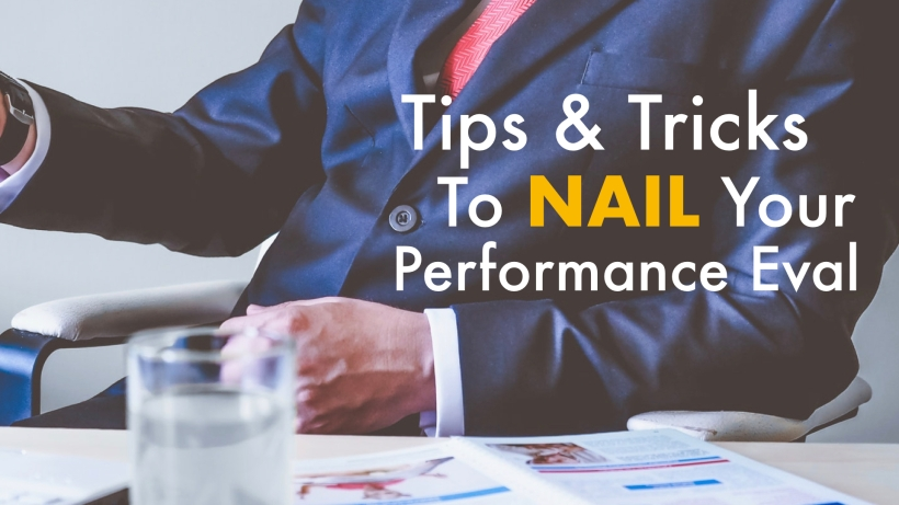 career tips tricks performance eval