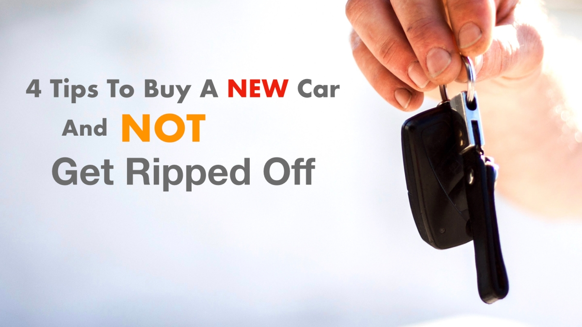 buy new car not get ripped off
