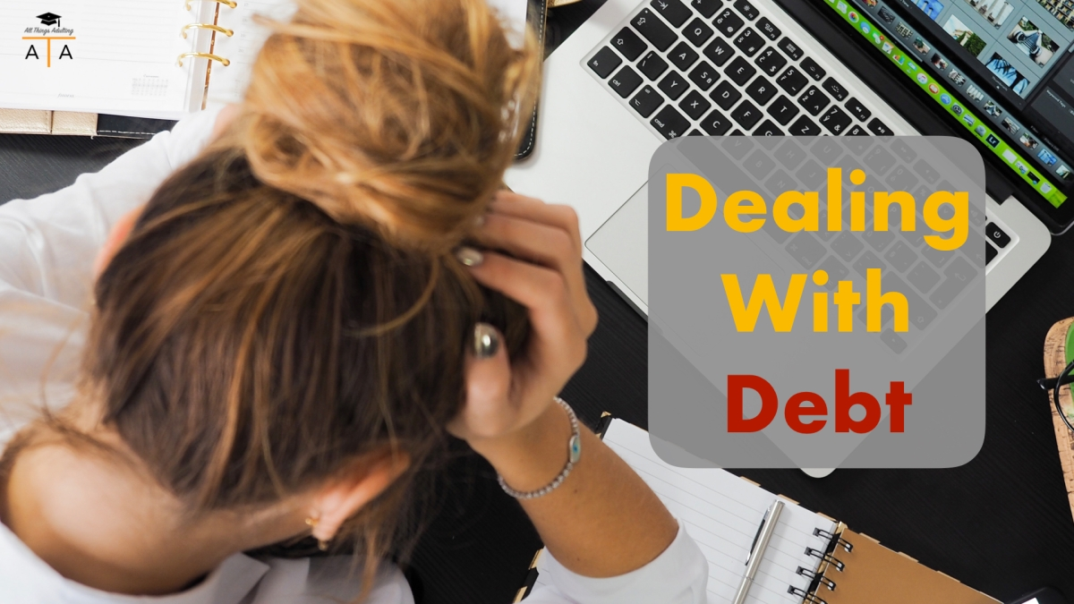 dealing with debt after college